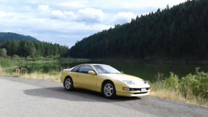 1990 Nissan 300ZX T top 5 speed lsd pearl yellow !
