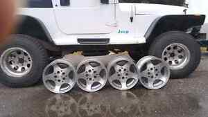Stock Jeep 15 inch rims Prince George British Columbia image 2