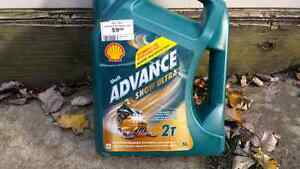 Snowmobile oil