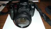 CANON EOS A2 35mm SLR FILM CAMERA WITH SIGMA 28-300mm LENS