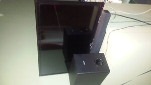 Home Entertainment system (TV &speakers)