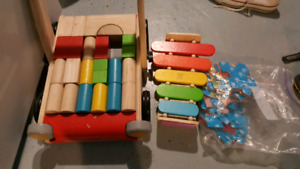 Wooden toys $10