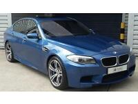BMW M5 4.4 auto 2012 M5 Saloon In Blue