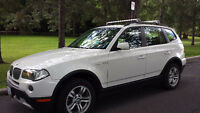 WHITE 2008 BMW X3 3.0i SUV (Only White Model In Eastern Ontario)