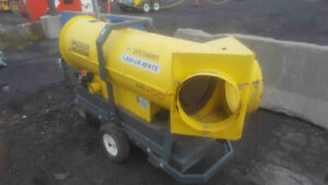 2014 Wacker Neuson HI400HD Ground Heater *Used*