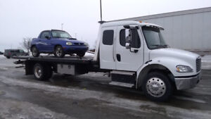 Fast and Cheap Flatbed Towing Services-647-795-3066