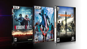 The Division 2, Resident Evil 5, or Devil May Cry 5 Digital