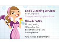 Lisa's cleaning ironing and oven cleaning services