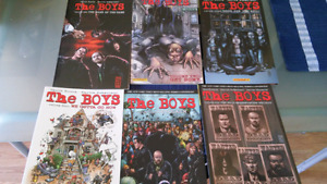 The Boys - volumes 1 to 6