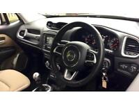2017 Jeep Renegade 1.6 Multijet Longitude 5dr Manual Diesel Hatchback