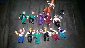 Vintage dick tracy figure lot!