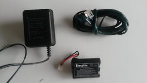 Cordless Phone Accessories (battery, charger, cord)