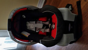 Infant carseat with base