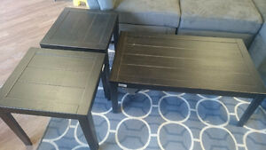 BIRSTROM COFFEE/END TABLES!!