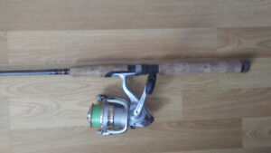 Quality spinning combo and tackle kit.