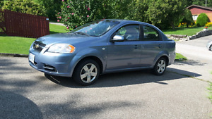 2007 Chevrolet Aveo LS- perfect student or commuter car