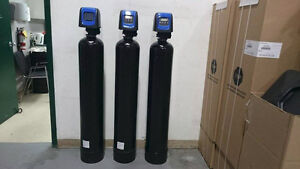 Water softener demand high end system