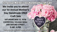 Handmade ONLY Mother's Day Craft Sale