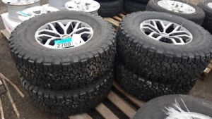 Tires and Rims at Bryan's Auction - Ends April 24th