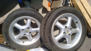 Continental Tires with Rims 215/50/R15