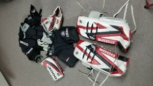 Equipements de hockey - Gardien de but (10-12 ans)