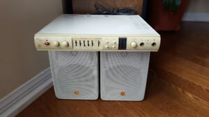 free PC amplifier and 2 speakers