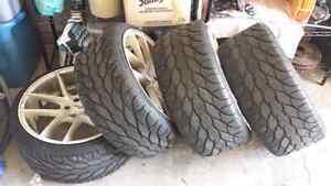 Bf goodrich g-force kdw tires