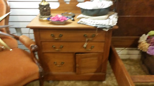 solid pine wash stand 195