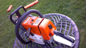 Stihl 026 Pro chainsaw with Arctic Package