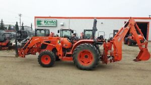KUBOTA MX5100DT TRACTOR LOADER BACKHOE