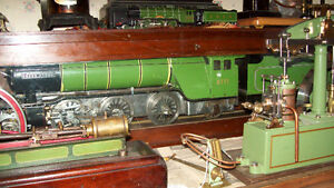 WANTED OLD LIVE STEAM ENGINES, OLD TOY TRAINS, BOATS