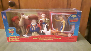Toy Story 2 Woody's Roundup Collection with Woody,Jessie,Pete,