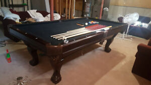 Pool Table - Herrington - Sovereign Ball and Claw - 4.5 x 9 ft