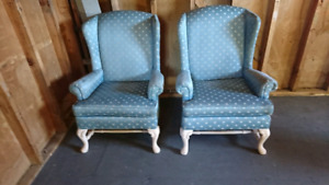 Chairs (Wingback Style)