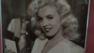 Reproduction photo of young Marilyn Monroe