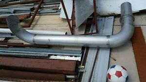 """6"""" stainless steel stove pipe"""