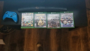 Xbox one 500GB, Special Edition Controller +Games