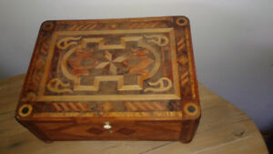 Handcrafted European jewelry  box