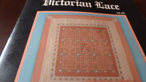 Embroidery needlepoint design, Small Victorian Lace kit, new