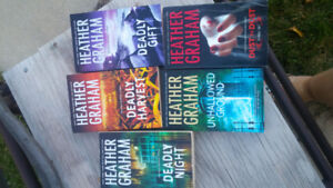 5 Heather Graham books : deadly suspense
