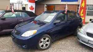 2007 Toyota Matrix.Safety,E test 1yr warranty,  416 909 1329