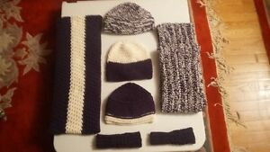 Crochet Woolen Caps and Bands for kids and adults
