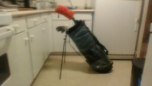 Nike Golf Bag & Nice Clubs Set