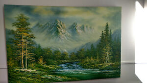Original oil painting from C.Helen