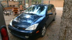 2003 Ford focus hatchback 4 door 165,000km