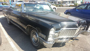 68 cadillac deville convertible for sale