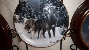 "Wolf Art, Bradford Exchange ""Collectable Fine Porcelain Plates Kitchener / Waterloo Kitchener Area image 5"