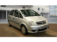 2006 Vauxhall Meriva 1.6 LIFE 16V 5d 100 BHP MPV Petrol Semi Automatic