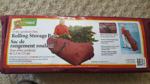7.5 ft. Artificial Tree Rolling Storage Bag