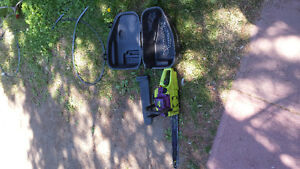 Poulan wild thing chainsaw with case